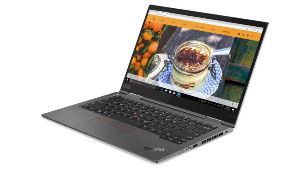 Lenovo ThinkPad X1 Yoga Gen5の画像