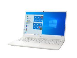 1kgを切るモバイルノートパソコン「dynabook GZシリーズ」の画像