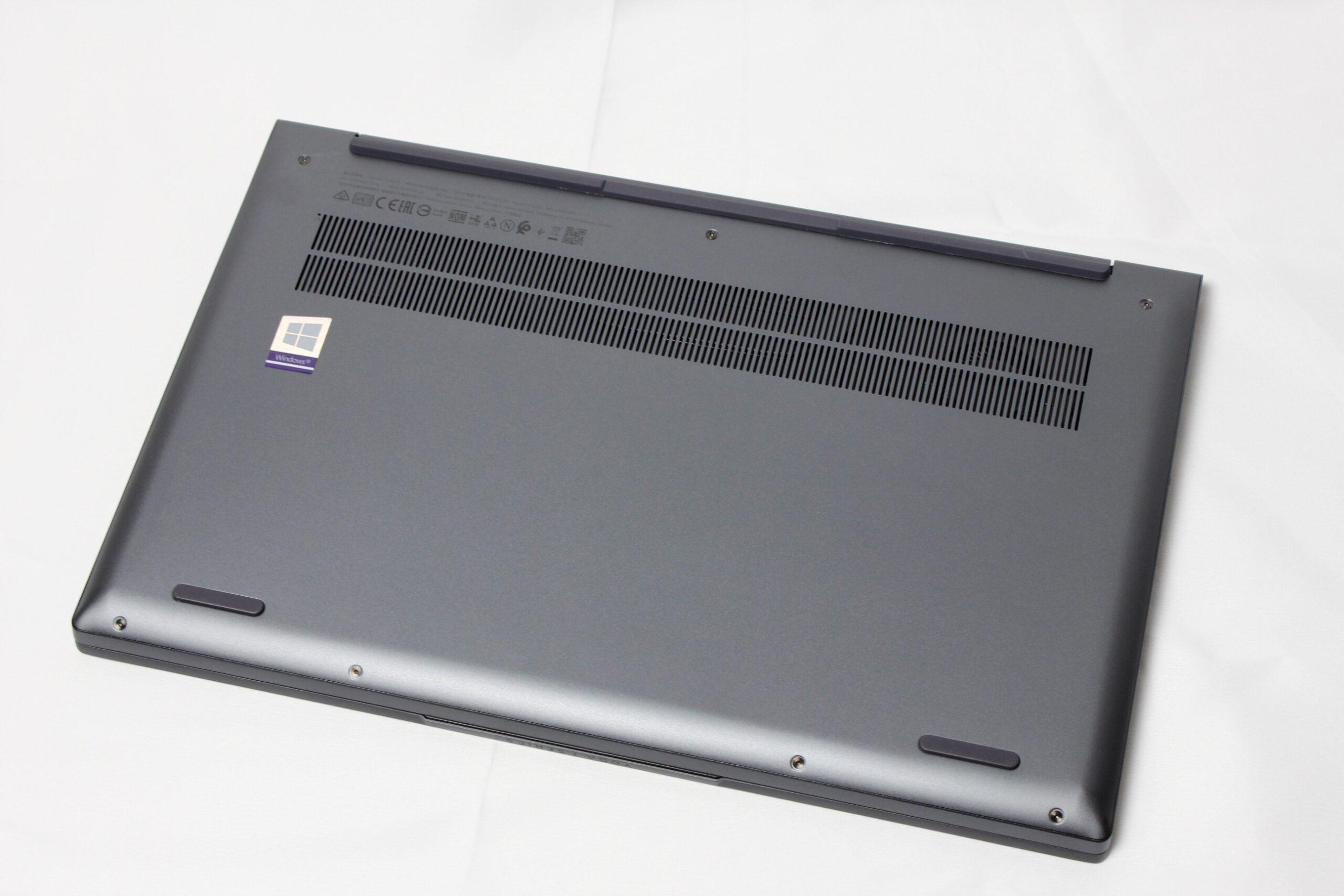 Yoga Slim 750i 14の底面の画像